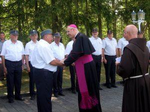 Kameradschaftsbund: Besuch des Bischofes