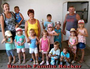 Besuch Familie Recker