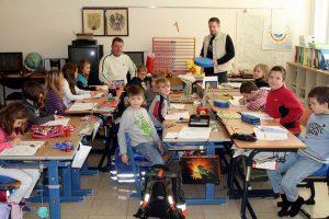 Sitzkissen für die Volksschule