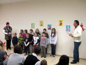 Nikolausfeier in der Volksschule