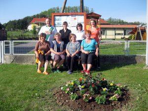 Ortsverschönerung in der Gemeinde Inzenhof