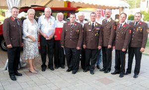 Feuerwehrfest 2012 mit Autosegnung