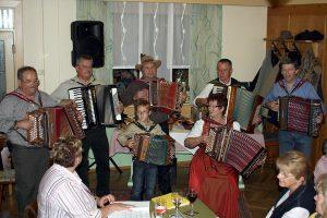 Musikantentreffen im Gasthaus Kurta