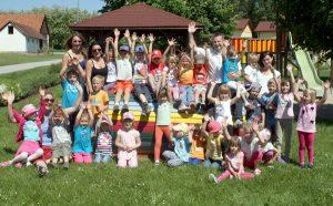 Wanderausflug des Kindergartens nach Kleinmürbisch