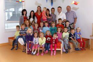 Kindergartenbeginn 2013/14
