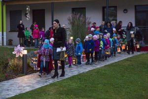 Martinsfest im Kindergarten und Volksschule