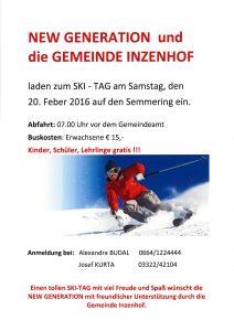 Ski Tag 2016