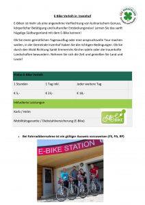 Radfahren in Inzenhof