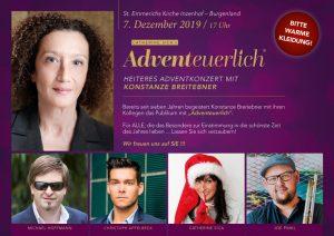 """Adventkonzert """"ADVENTEURLICH"""""""