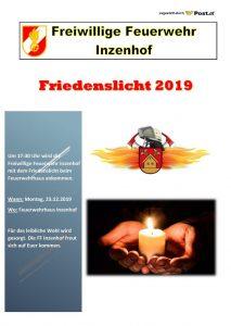 Friedenslicht am 23.12.2019