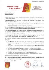 Amtliche Mitteilung 06/2020