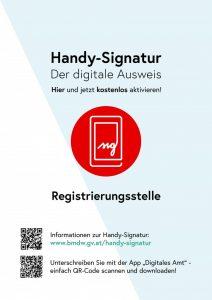 Aktivierung der Handysignatur am Gemeindeamt in Inzenhof